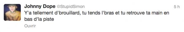 News twitter de Simon 20/03/13