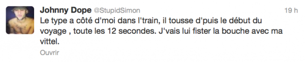 News twitter de Simon 19/03/13