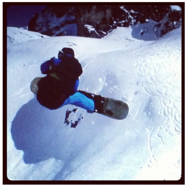 Simon à la neige.....