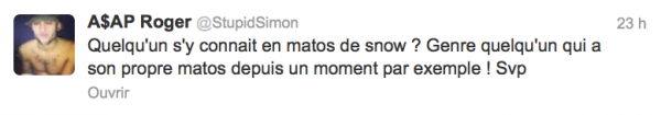 News twitter de Simon 23/03/13