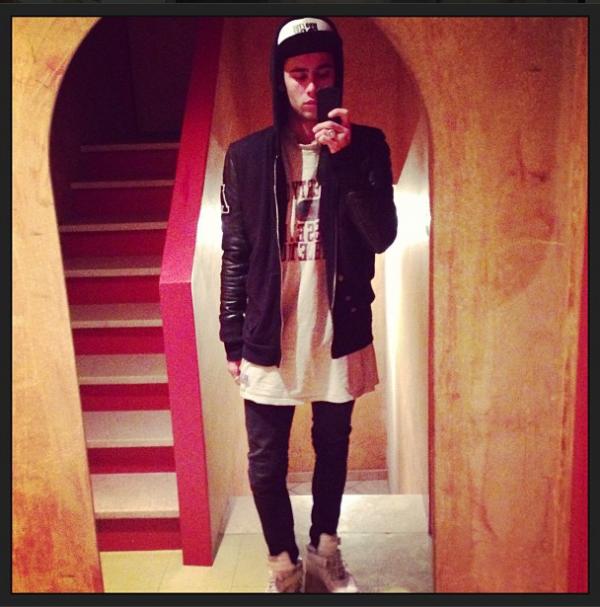 Photo Instagram Simon.