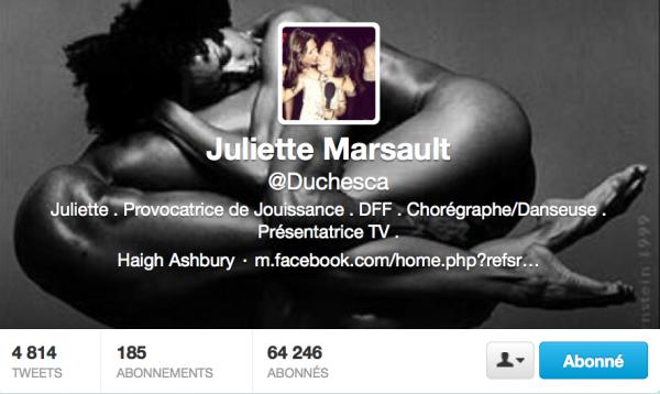 Nouvelle PP+ CouvertureTwitter de Juliette 14/04/13