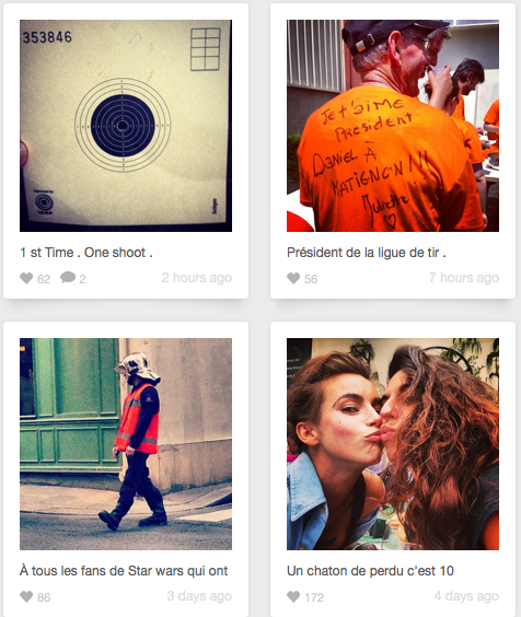 Instagram Juliette juin 2013