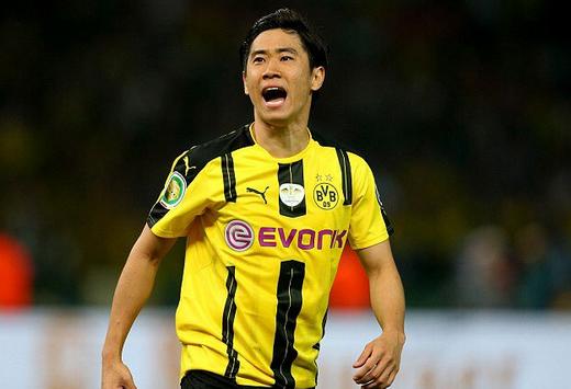 nuova maglia Borussia Dortmund Kagawa 2017-2018