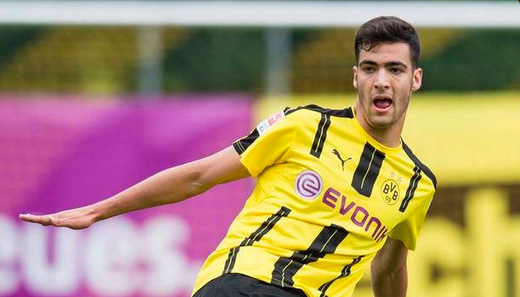 nuova maglia Borussia Dortmund Mikel Merino 2017-2018