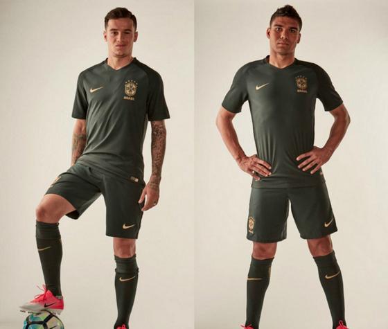 Nuova terza Maglia Nazionale Brasile 2018