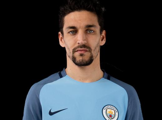 nuova maglia Manchester City Jesús Navas  2017-2018
