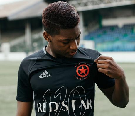 maglia Red Star speciale per celebrare il 120 ° anniversario del club