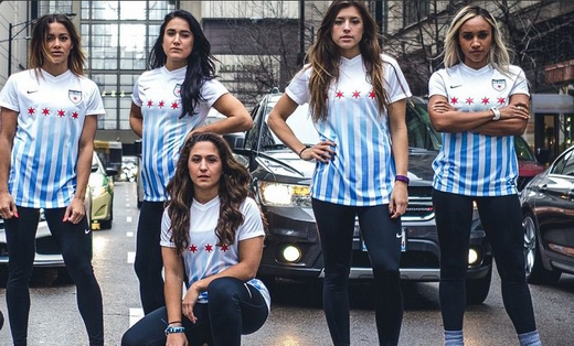 maglie Chicago Red Stars 2017-2018