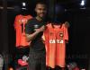 maglia Clube Atlético Paranaense seconda 2017 2018 arancione