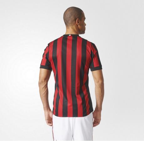 maglia AC Milan prima la squadra 2017-18