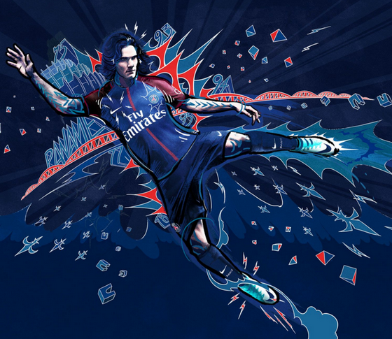 prima maglia PSG per la stagione 2017/18