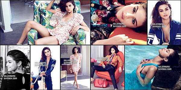 """○ Selena fait la couverture du magazine """" Instyle """" du mois de Septembre. Découvrez aussi le magnifique Photoshoot. J'aime beaucoup ce shoot Selena est sublime. J'adore les photos ou elle a la veste bleu. Je lui donne un Top et Vous ?"""