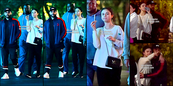 ○ Selena et Abel ont été vu à Disneyland en Californie, le 20 / 08 / 2017. J'aime bien sa tenue, elle est simple mais sa lui va bien. Je lui donne un Top et Vous ?