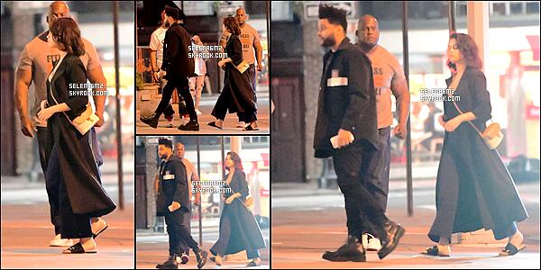 ○ Selena à été vu à Los Angeles, le 23 / 08 / 2017. J'aime beaucoup sa tenue, elle est simple mais très jolie j'adore son pull licorne. Je lui donne un Top et Vous ?