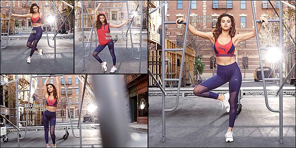 """○ Découvrez la nouvelle collection de Selena pour PUMA """" AUTOMNE / HIVER 2018 """". J'aime beaucoup sa tenue de sport, elle est simple mais sa lui va bien. Je lui donne un Top et Vous ?"""