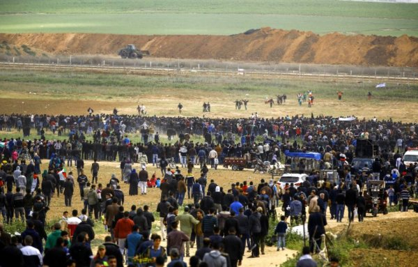 Israël: Six Palestiniens tués par l'armée lors d'un rassemblement à la frontière