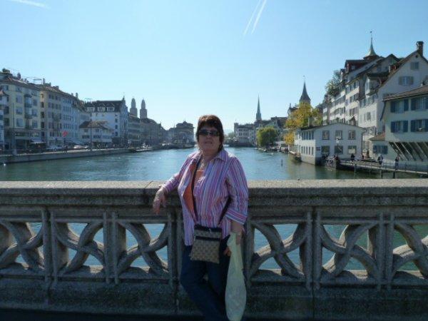 Lake Zurich Switzerland.