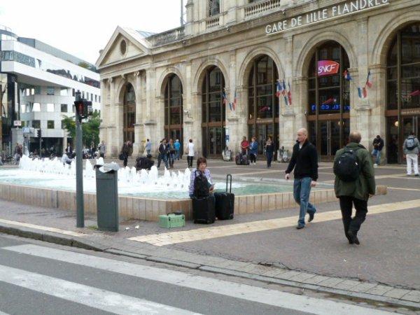 Gare de Flanders Lille France.