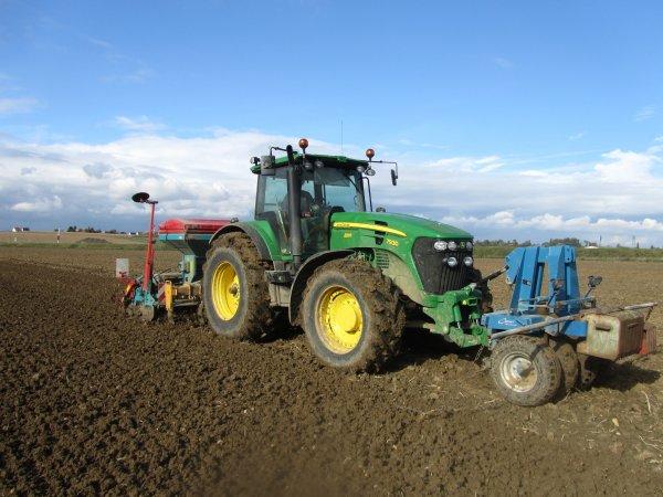 Semis de blé 2010