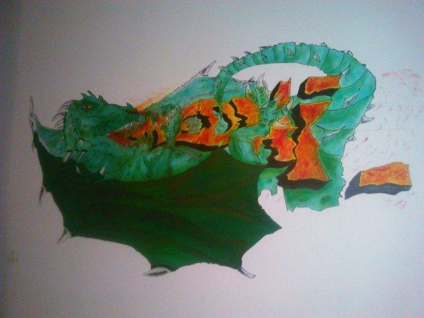 Fresque Murale 1m80 X 1m Chambre D 39 Enfant Art Illusion Custom Dessin Deco