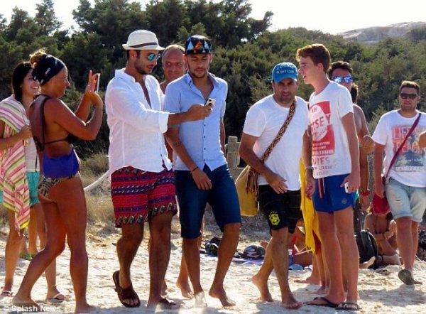 Neymar et Bruna Marquezine à Ibiza