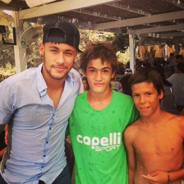 Neymar et Bruna Marquezine