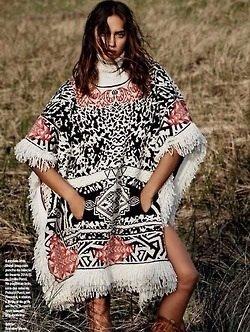 Irina Shayk pour le Vogue Bresil