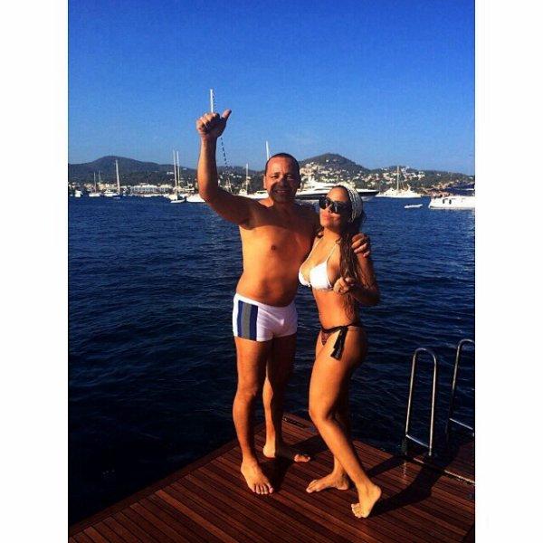 Neymar et Rafaella Da Silva à Ibiza