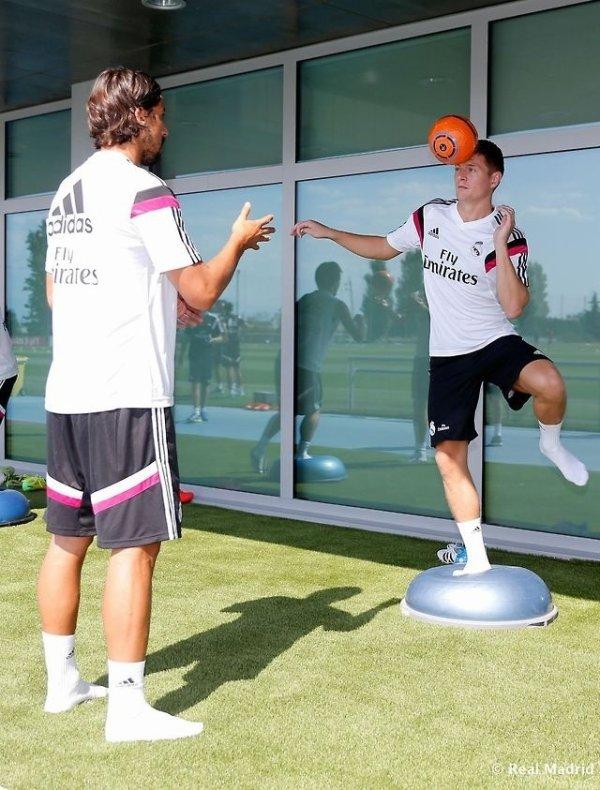 Entrainement du Real Madrid , Le 05/08/2014