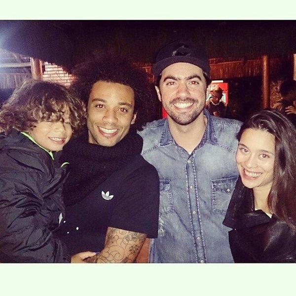 Marcelo,  Clarice Alves et Enzo