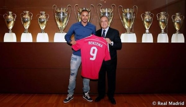 Prolongation de Karim Benzema jusqu'en 2019