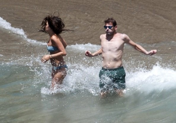 Iker Casillas et Sara Carbonero