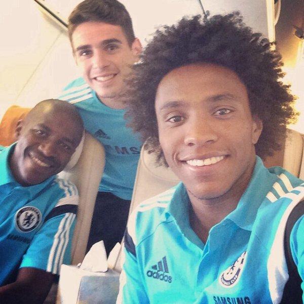 Ramires, Oscar et Willian Borges