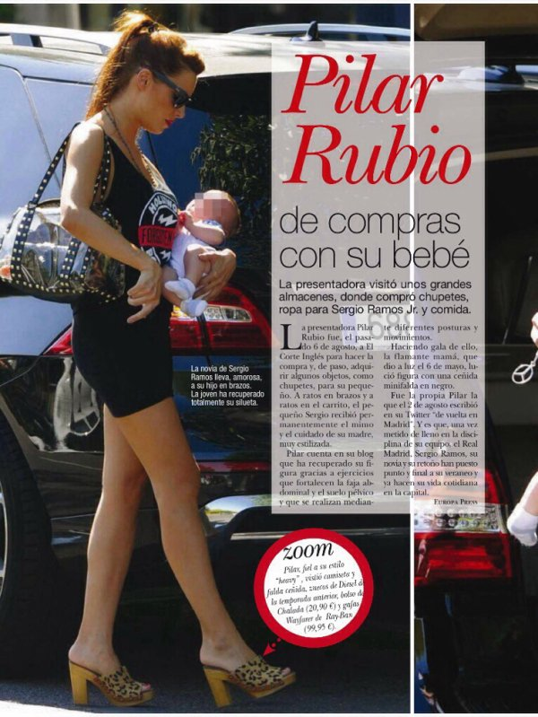 Pilar Rubio et Sergio Ramos Rubio