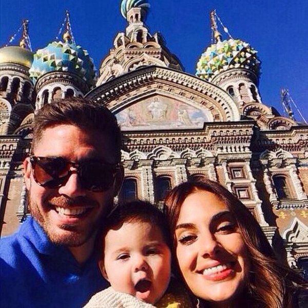 Javi Garcia, Elena Gomez et Amalia Garcia Gomez