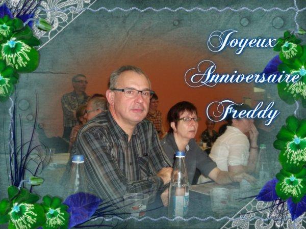 Joyeux anniversaire Freddy