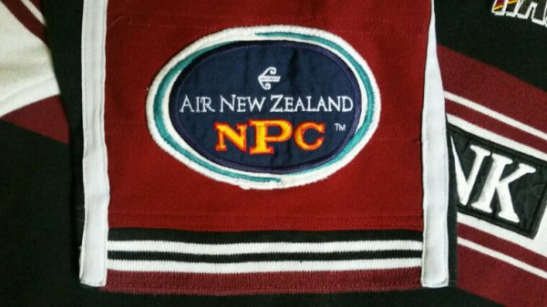 Maillot North Harbour NZ fin années 90