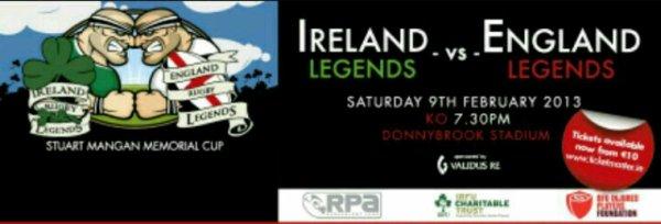 Maillot Irish Legends