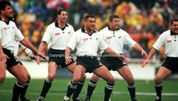 Maillot All Blacks blanc