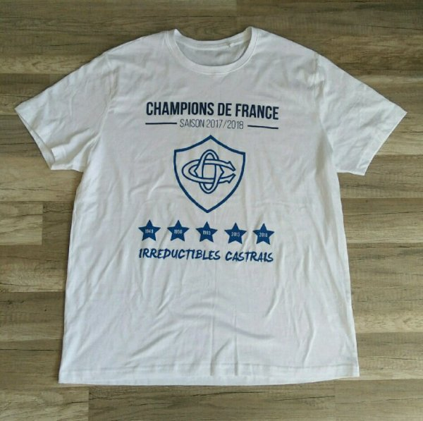 Tee shirt CO champion 2018