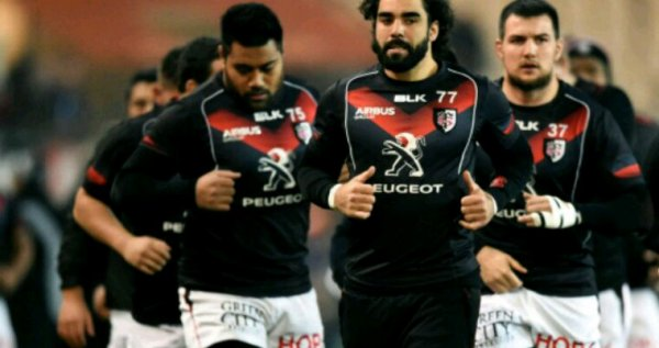 Tee shirt training Stade Toulousain