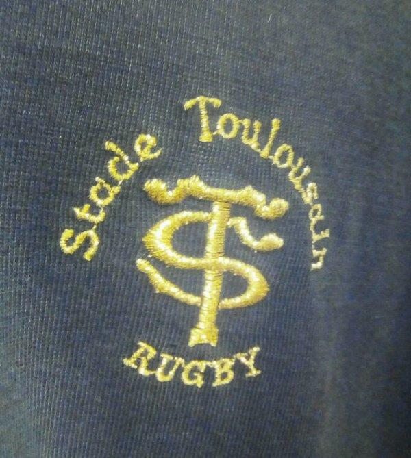 Maillot Stade Toulousain debut années 90