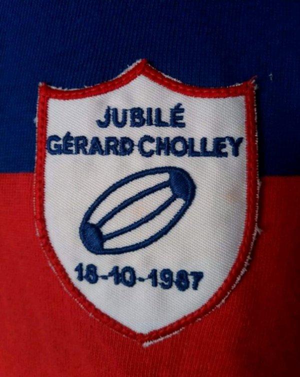 Maillot Jubilé Gérard Cholley
