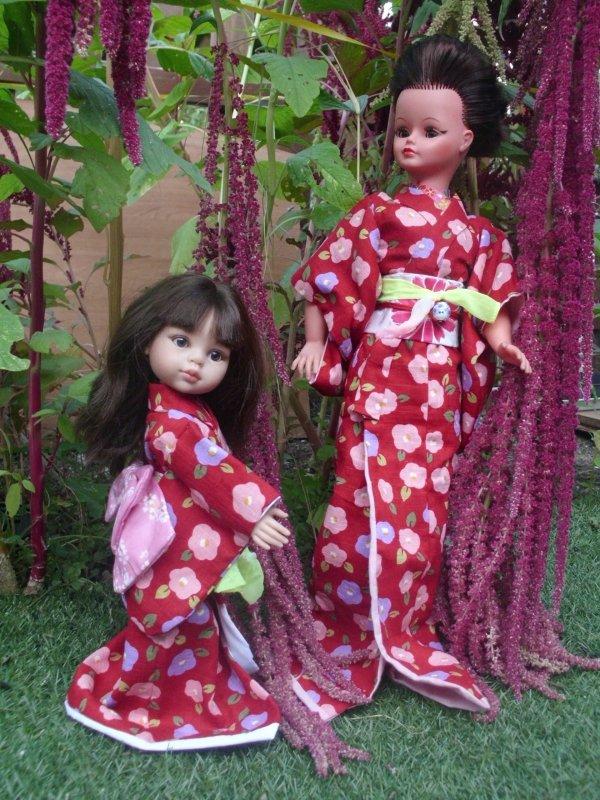 Cathie en mode  geisha...