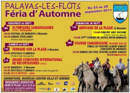 Féria des vendanges 2011 Palavas les flots.