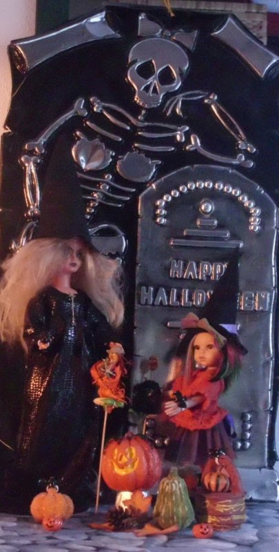 Happy Halloween, de bien jolies sorcières...
