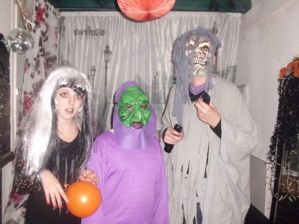 Mes monstres d' Halloween 2011 !