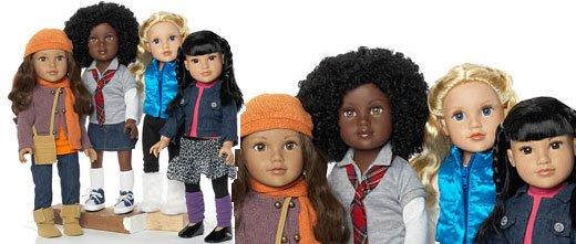 """Les jolies """" Journey Girls"""" de chez Toys""""r""""us, poupées de 45 cm, j' ai craqué..."""