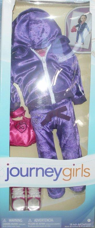 Voici quelques nouvelles tenues pour les Journey Girls.